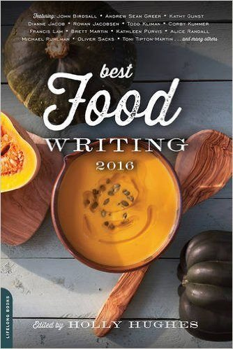 Best Food Writing 2016